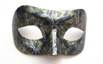 Genuine Venetian Exclusive Crackle Eye Mask  (1) c